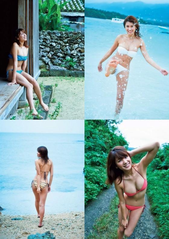 久松郁実 手ブラよりセクシーな週プレFカップ水着グラビア 画像26枚 3