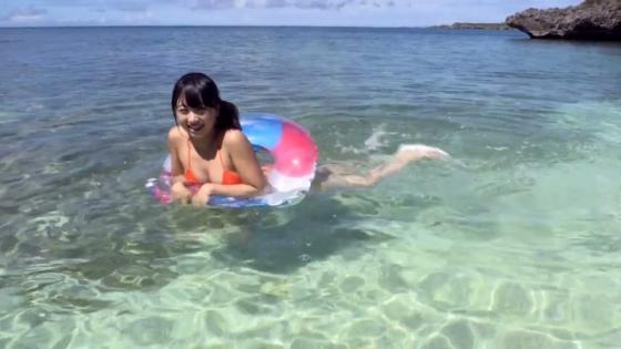 一色杏子 DVDラブリースマイルの水着Eカップキャプ 画像49枚 11