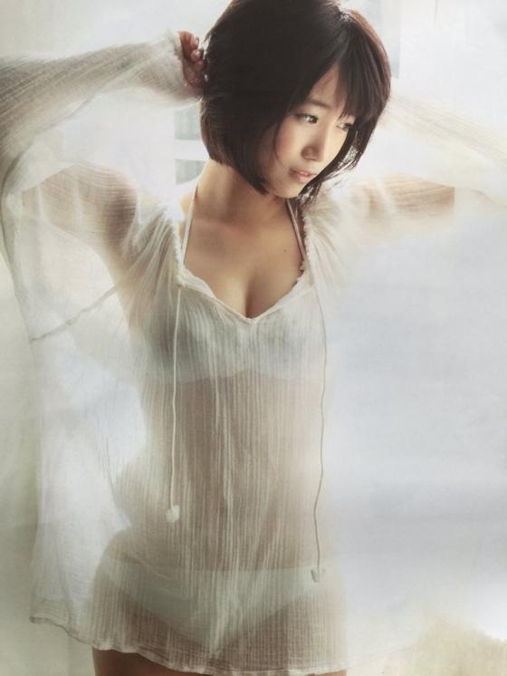 朝長美桜 EX大衆の水着姿Eカップ谷間グラビア 画像30枚 1