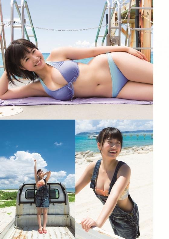朝長美桜 EX大衆の水着姿Eカップ谷間グラビア 画像30枚 21