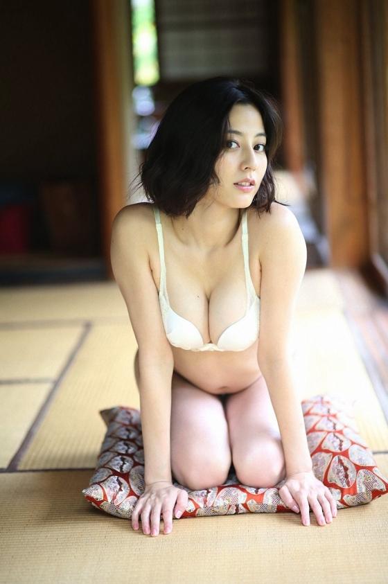 杉本有美 週プレのCカップ下着姿とセミヌードグラビア 画像42枚 10