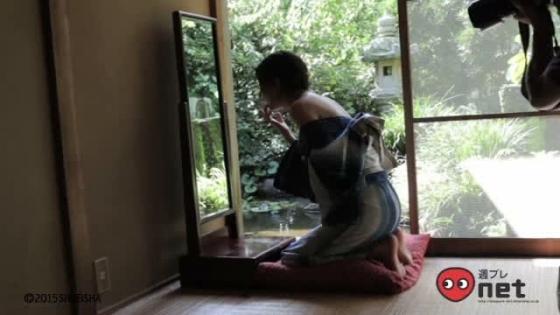 杉本有美 週プレのCカップ下着姿とセミヌードグラビア 画像42枚 22
