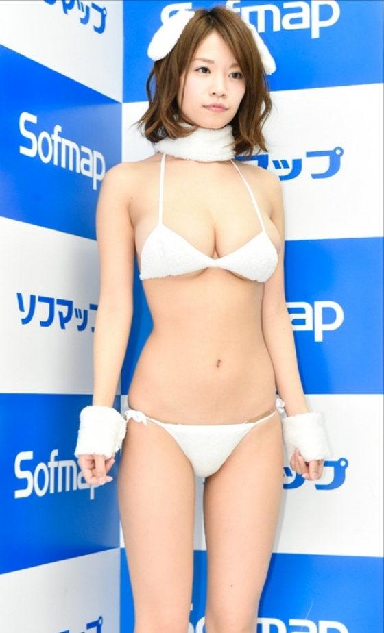 菜乃花 彼女がグラドル販促イベントinソフマップ 画像29枚 3
