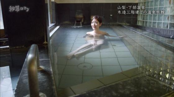 岡愛恵 バスタオル1枚で入浴姿を披露する秘湯ロマンキャプ 画像39枚 18