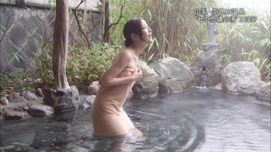 岡愛恵 バスタオル1枚で入浴姿を披露する秘湯ロマンキャプ 画像39枚 31