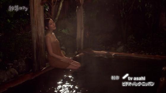 岡愛恵 バスタオル1枚で入浴姿を披露する秘湯ロマンキャプ 画像39枚 39