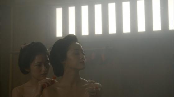 沢尻エリカ 大奥の渡辺麻友との百合やレズキスシーンキャプ 画像26枚 19
