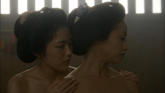 沢尻エリカ 大奥の渡辺麻友との百合やレズキスシーンキャプ 画像26枚 21