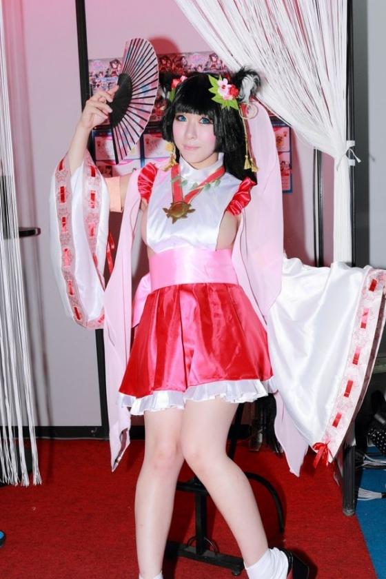 雨宮留菜 東京ゲームショウ2015の横乳丸見えな変態巫女コスプレ 画像22枚 3