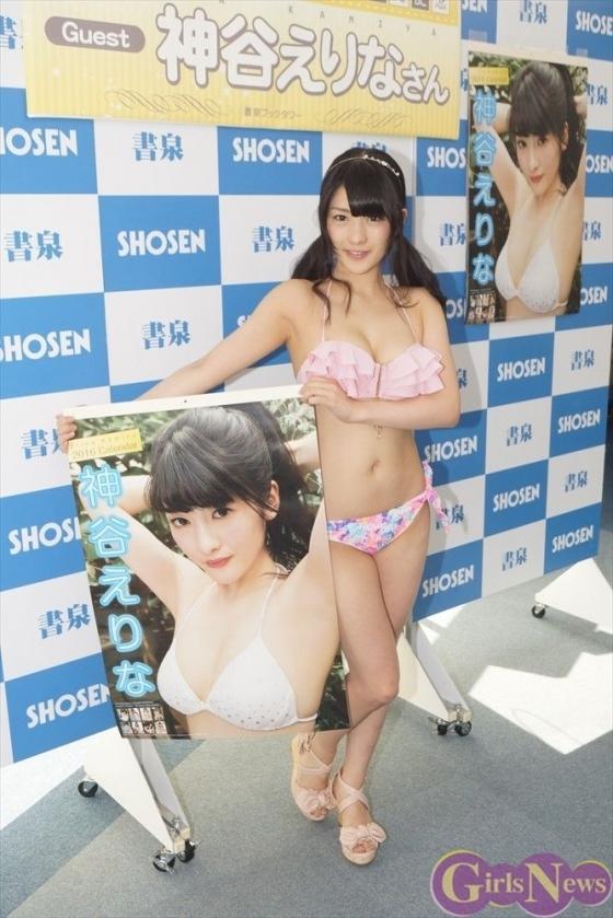 神谷えりな 仮面女子Gカップ爆乳アイドルの水着姿 画像30枚 8