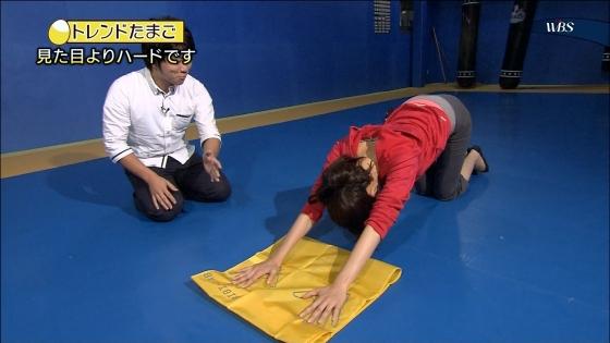 大澤亜季子 Bカップ胸チラと腰チラするトレたまキャプ 画像29枚 10