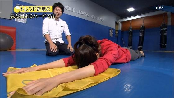 大澤亜季子 Bカップ胸チラと腰チラするトレたまキャプ 画像29枚 13