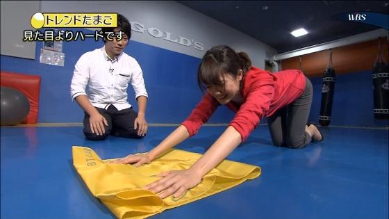 大澤亜季子 Bカップ胸チラと腰チラするトレたまキャプ 画像29枚 16