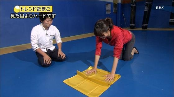 大澤亜季子 Bカップ胸チラと腰チラするトレたまキャプ 画像29枚 9