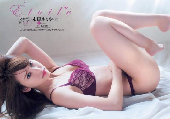 永尾まりや ヤンマガ最新下着グラビアのCカップ谷間と股間 画像36枚 11