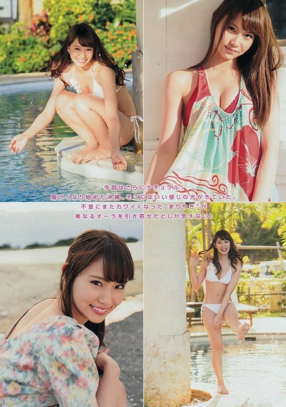 永尾まりや ヤンマガ最新下着グラビアのCカップ谷間と股間 画像36枚 24