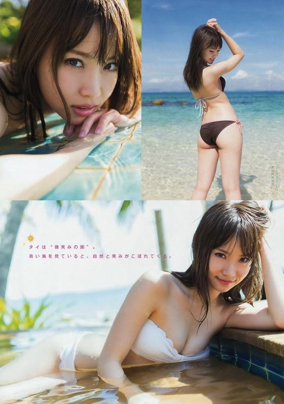 永尾まりや ヤンマガ最新下着グラビアのCカップ谷間と股間 画像36枚 3