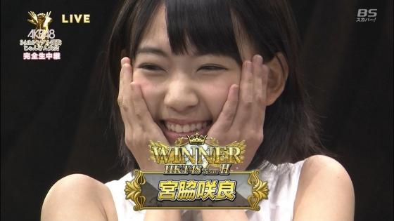 宮脇咲良 美少女時代に全開腋を披露したじゃんけん大会キャプ 画像20枚 7