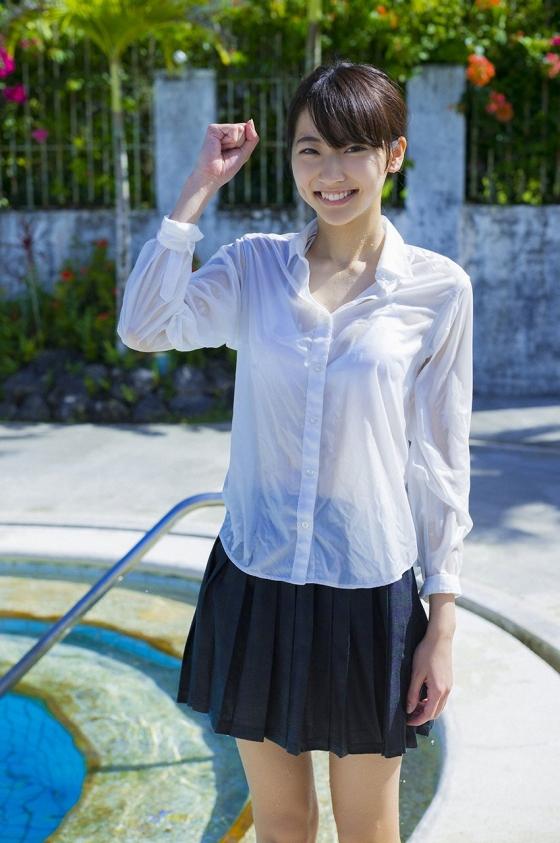 武田玲奈 週プレの制服透けブラと最新水着グラビア 画像37枚 1