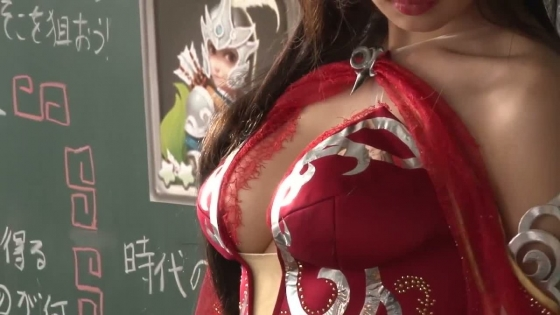 片山萌美 三国天武CMのGカップ爆乳露出キャプ 画像27枚 12