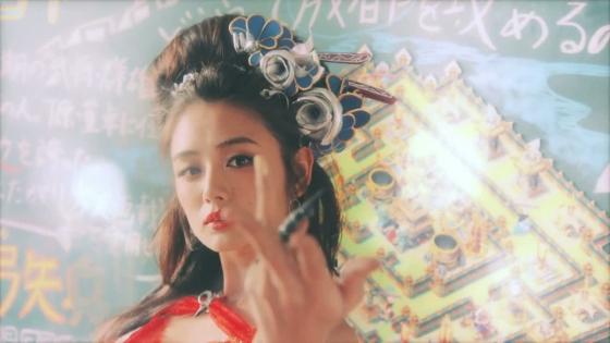 片山萌美 三国天武CMのGカップ爆乳露出キャプ 画像27枚 2