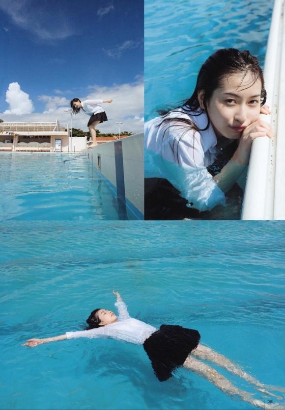 植村あかり ヤングジャンプ&ガンガンの最新Dカップ水着グラビア 画像26枚 19