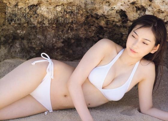 植村あかり ヤングジャンプ&ガンガンの最新Dカップ水着グラビア 画像26枚 23
