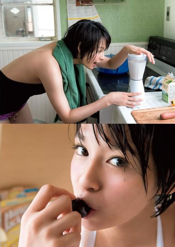 大沢ひかる Bカップ水着姿を週プレグラビアで披露 画像22枚 5