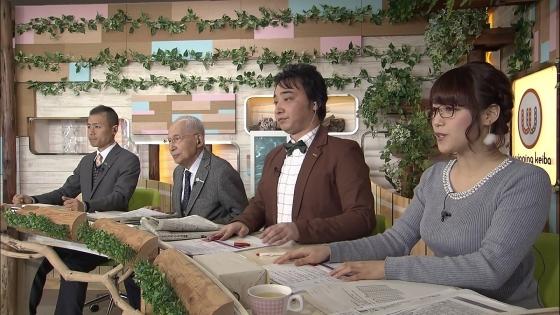 鷲見玲奈 ウイニング競馬のFカップ着衣巨乳高画質キャプ 画像29枚 23