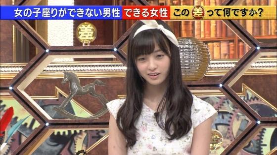 橋本環奈 女の子座りで内股美脚を披露したテレビ番組キャプ 画像29枚 12