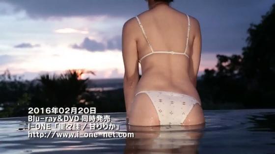 里々佳 DVD甘りりかの水着Eカップ谷間キャプ 画像44枚 36