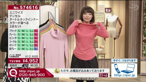 通販番組の胸チラや着衣おっぱい強調キャプ 画像30枚 10