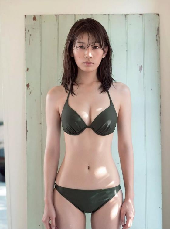 佐藤美希 週プレのFカップ水着姿最新グラビア 画像23枚 12