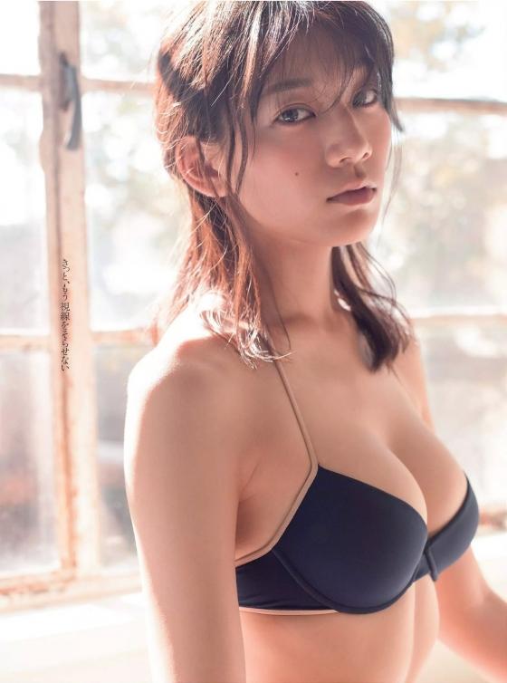 佐藤美希 週プレのFカップ水着姿最新グラビア 画像23枚 13