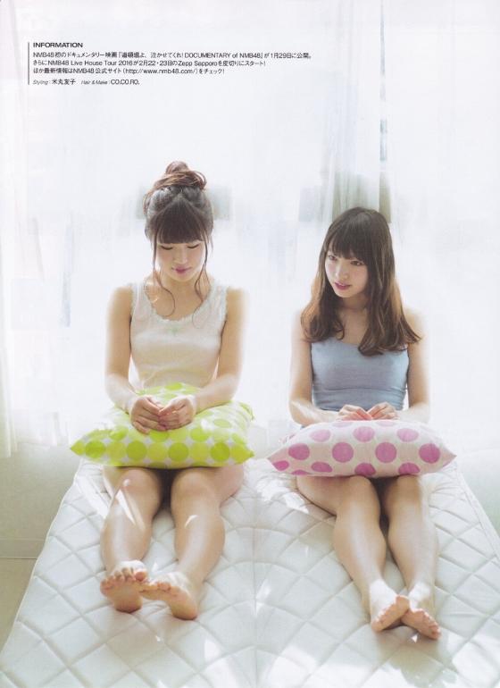 太田夢莉 BOMB最新号で水着共演した須藤凜々花とのグラビア 画像26枚 16