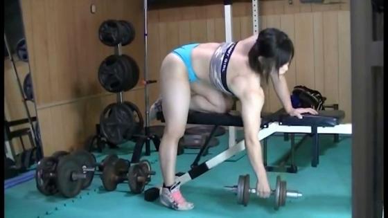 中井りん Gカップ爆乳と筋肉が素敵なトレーニングキャプ 画像35枚 11