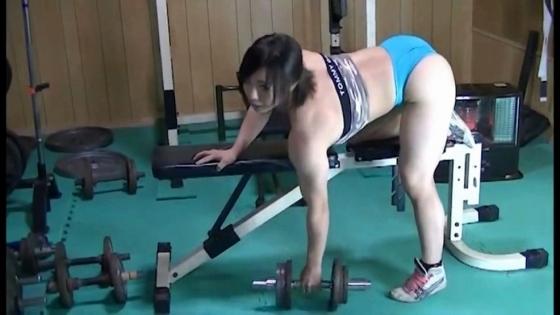 中井りん Gカップ爆乳と筋肉が素敵なトレーニングキャプ 画像35枚 14