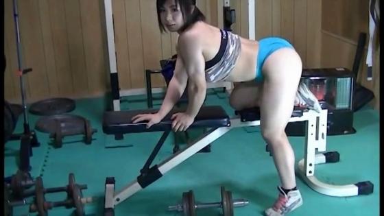 中井りん Gカップ爆乳と筋肉が素敵なトレーニングキャプ 画像35枚 16