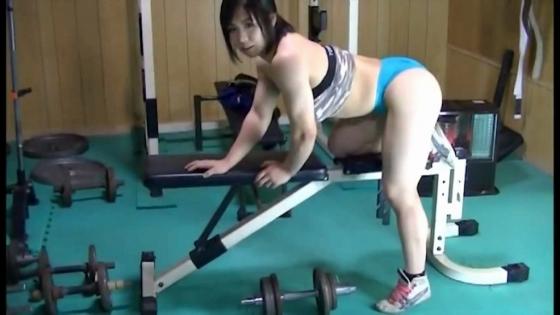 中井りん Gカップ爆乳と筋肉が素敵なトレーニングキャプ 画像35枚 18