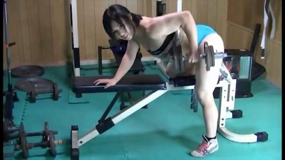 中井りん Gカップ爆乳と筋肉が素敵なトレーニングキャプ 画像35枚 19
