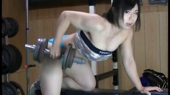 中井りん Gカップ爆乳と筋肉が素敵なトレーニングキャプ 画像35枚 1