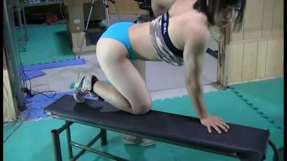 中井りん Gカップ爆乳と筋肉が素敵なトレーニングキャプ 画像35枚 20
