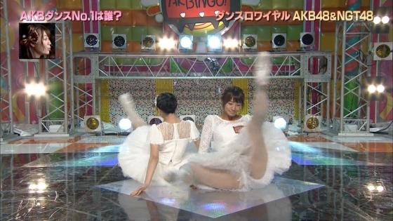 藤田奈那 股間のパンチラと美脚を披露したAKBINGO!キャプ 画像29枚 4