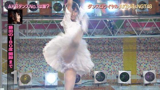 藤田奈那 股間のパンチラと美脚を披露したAKBINGO!キャプ 画像29枚 7