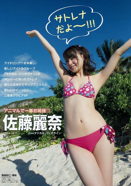 佐藤麗奈 ヤングアニマル最新号のBカップ水着グラビア 画像28枚 2