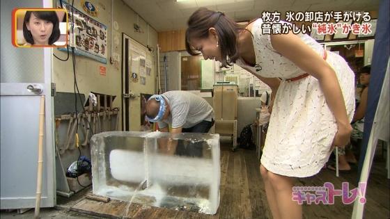 斎藤真美 ABC女子アナの腋チラ胸チラブラチラ連発キャプ 画像32枚 11