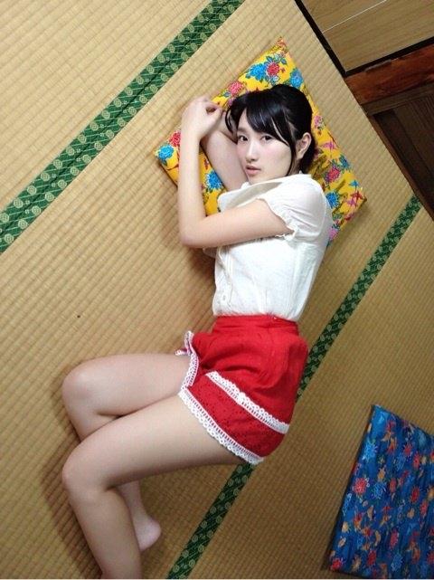 田中菜々 DVD卒業のハイレグ股間と乳輪ギリギリEカップキャプ 画像34枚 34