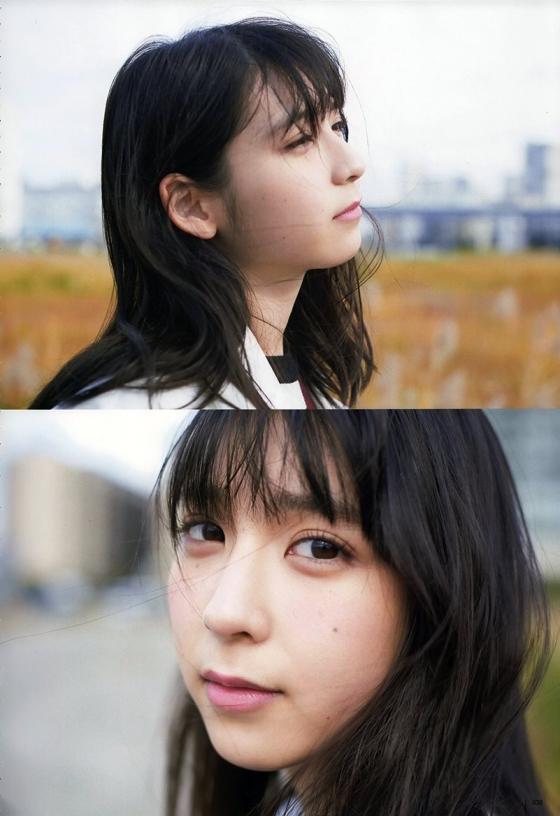 松岡菜摘 ヤングジャンプ最新号のHKT48なつ水着グラビア 画像35枚 12