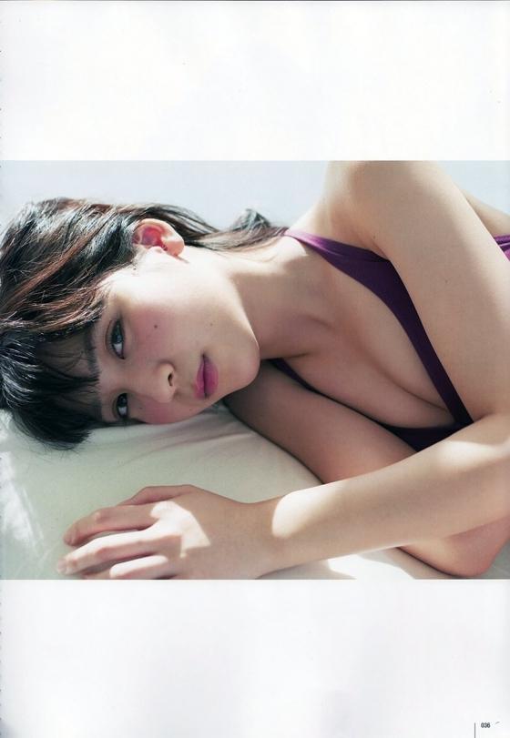 松岡菜摘 ヤングジャンプ最新号のHKT48なつ水着グラビア 画像35枚 13