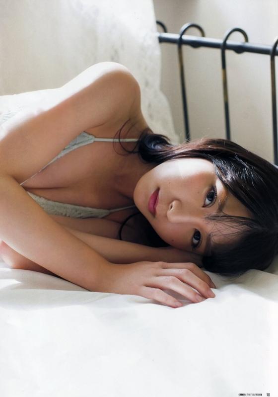 松岡菜摘 ヤングジャンプ最新号のHKT48なつ水着グラビア 画像35枚 23